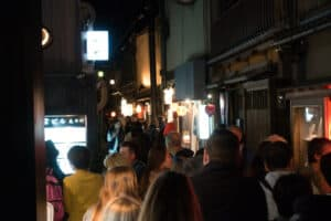 Viel los in Gion, Kyoto