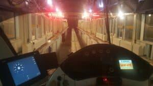 so siehts im Monorail Cockpit aus