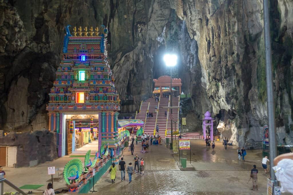 Haupthalle Batu Höhle