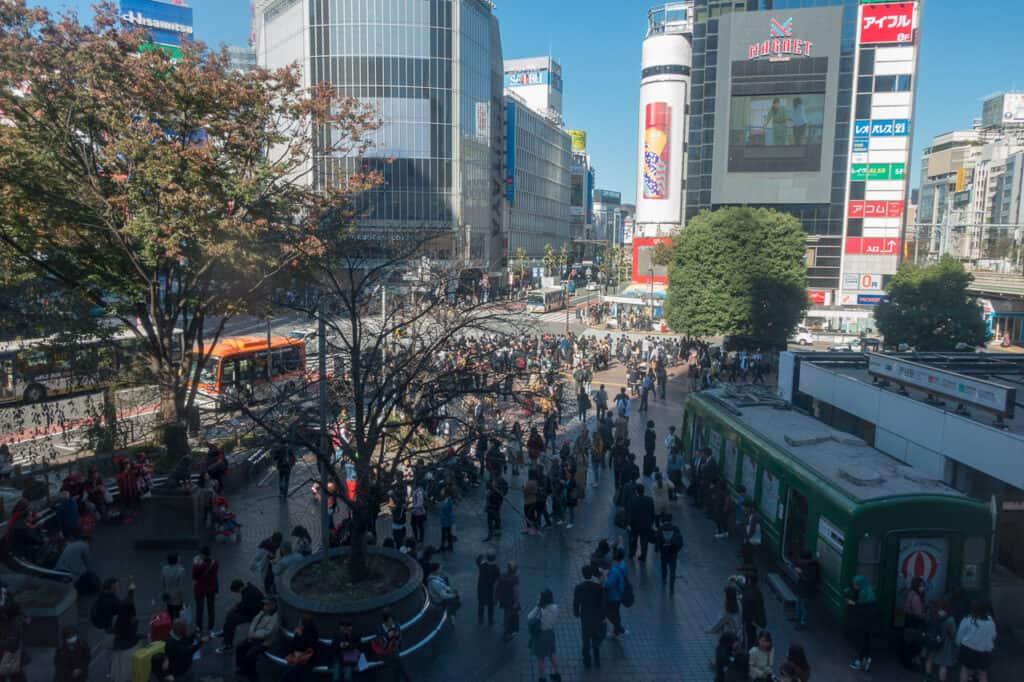 Shibuya, Tokio - Japan in 7 Tagen