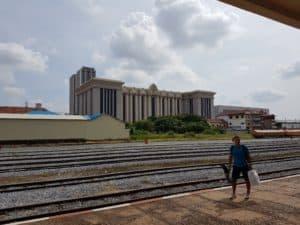 Bahnhof in Phnom Penh Kambodscha, jetzt erreichbar per Zug