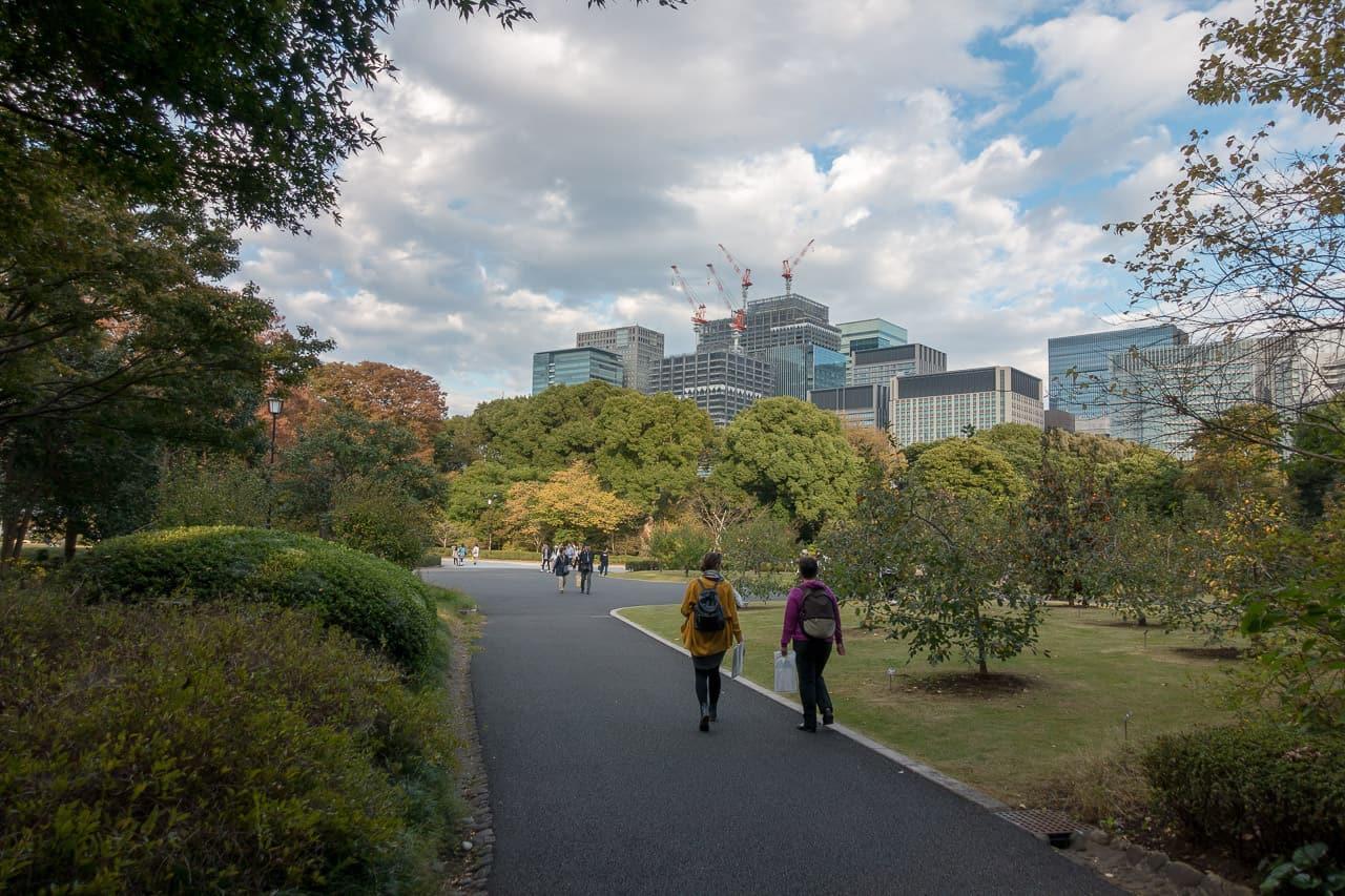 Kaiserliche Gärten Tokio