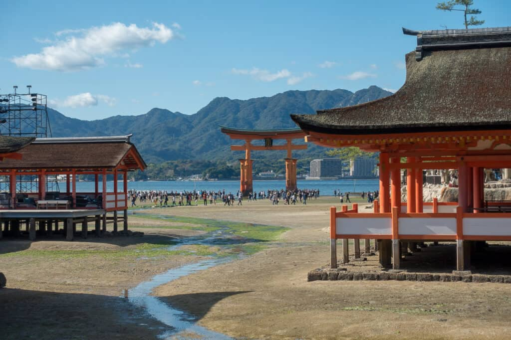 Miyajima an Tag 1 - Japan in 7 Tagen