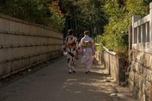 Geishas in Arashiyama