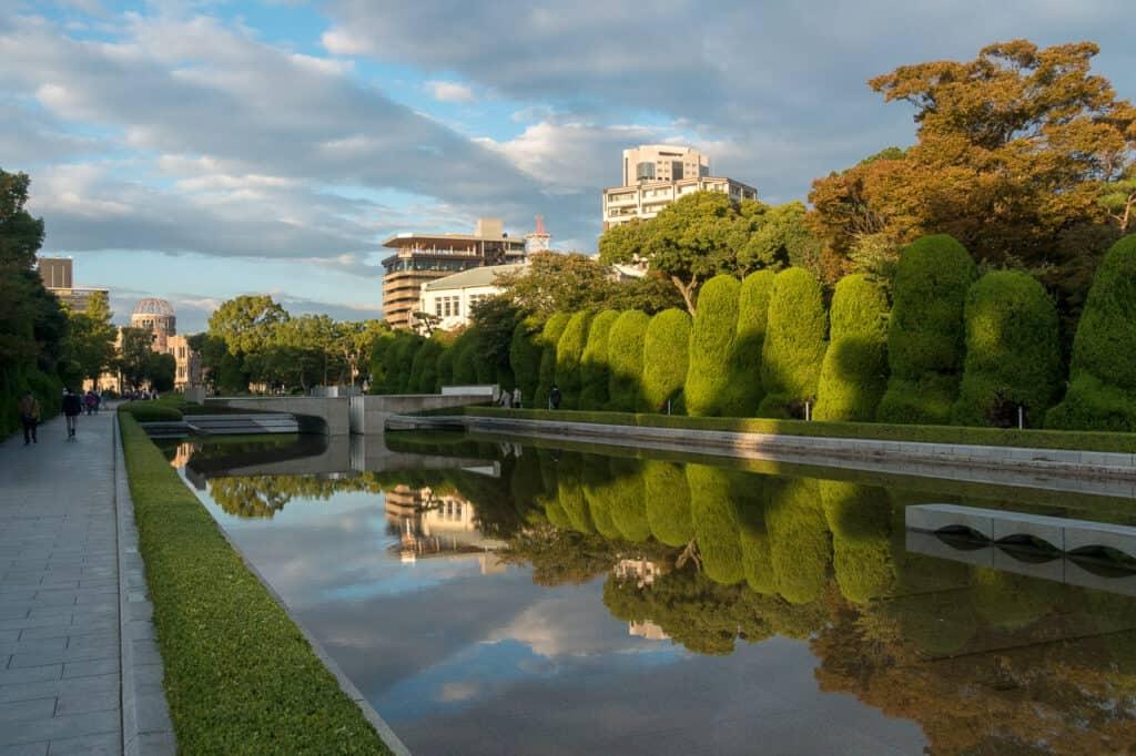 Friedenspark Hiroshima an Tag 1 - Japan in 7 Tagen