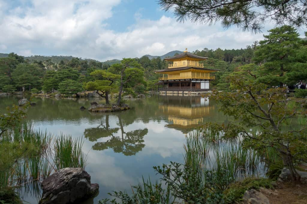 Kinkaku-ji in Kyoto an Tag 2 von Japan in 7 Tagen