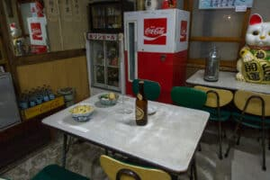 50er Jahre Restaurant im Showa-Museum
