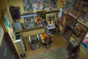 alter Barbershop im Showa-Museum