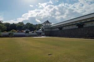 Schloss Kanazawa, hier an einem schönen Tag