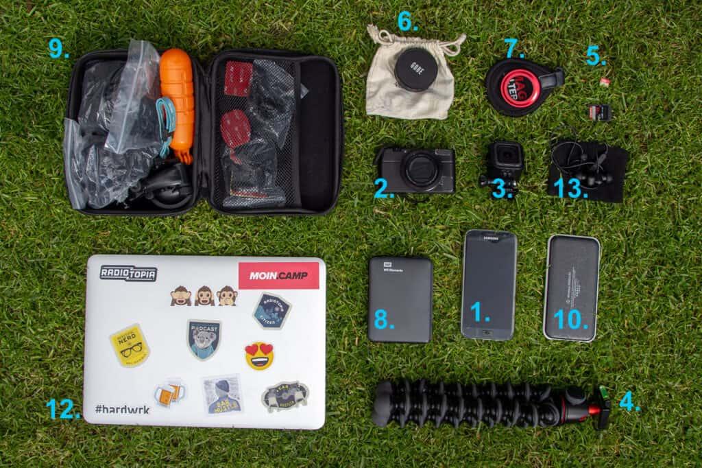 Packliste Technik - kleines Besteck