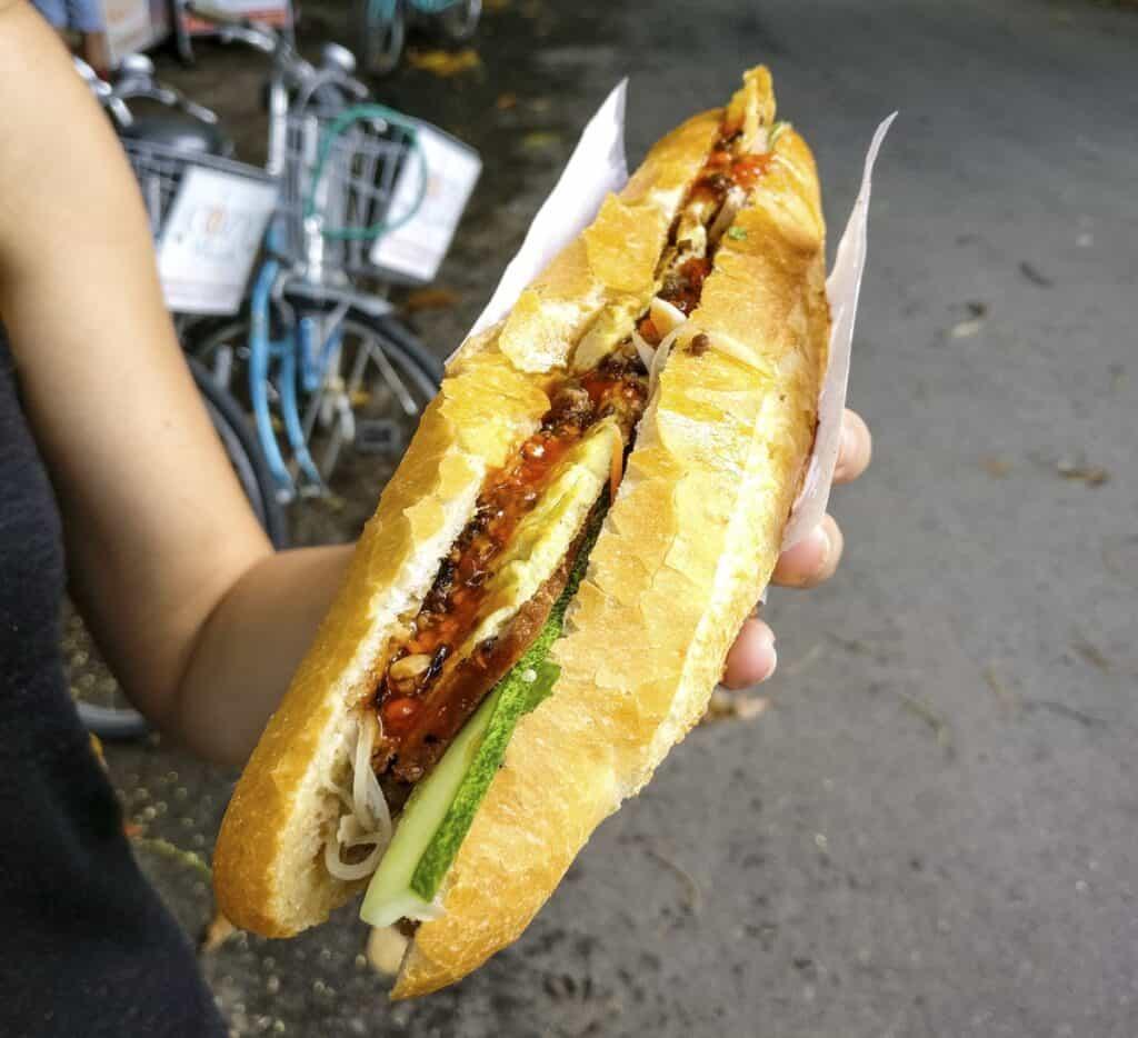 Essen aus Vietnam das du probieren solltest - Platz 2 - Banh Mi