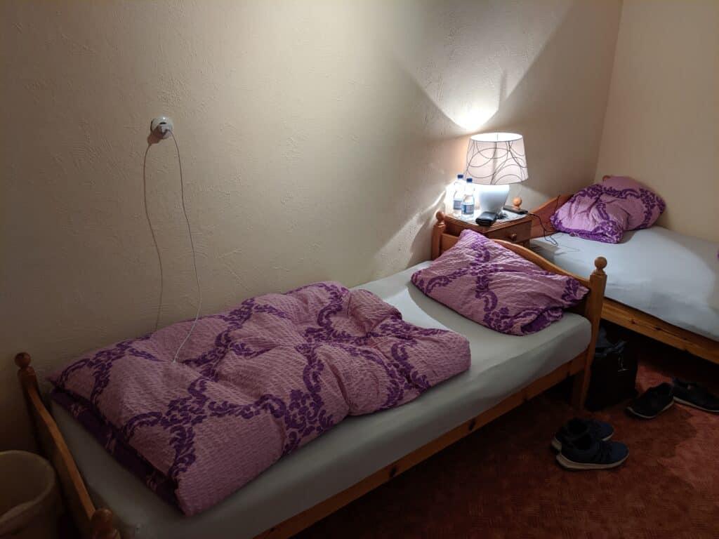 Zimmer des Hotel Bellevue in Monschau