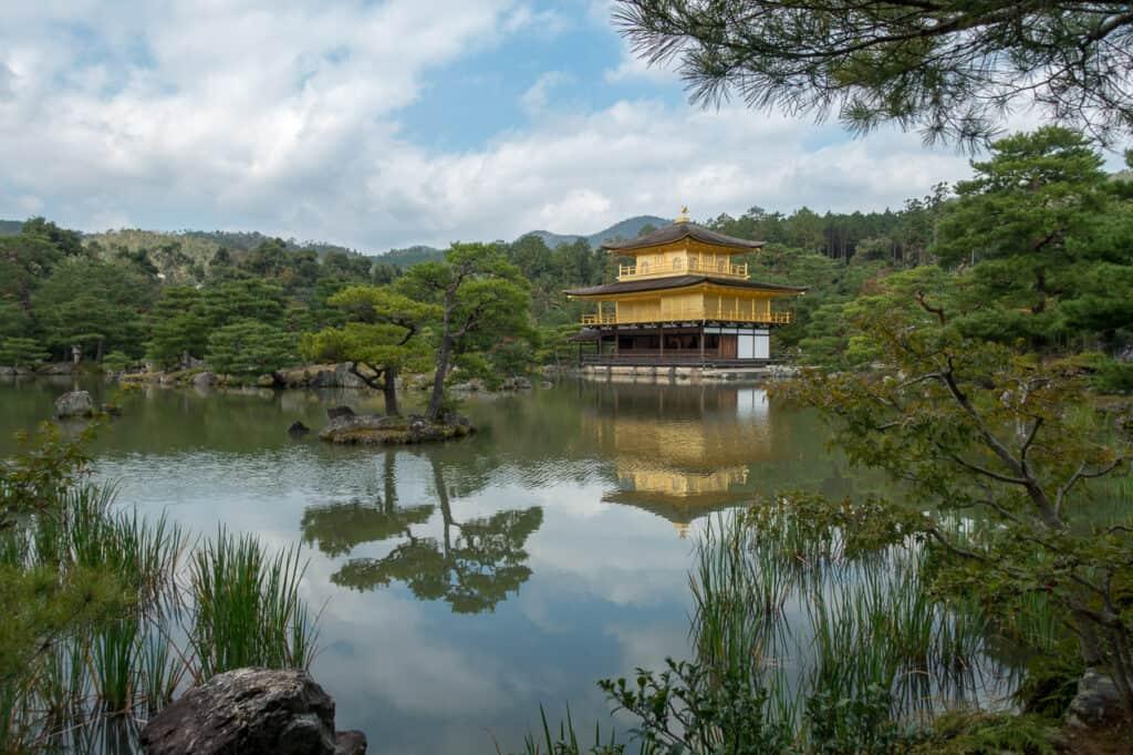 Reise Nervensägen am Kinkakuji