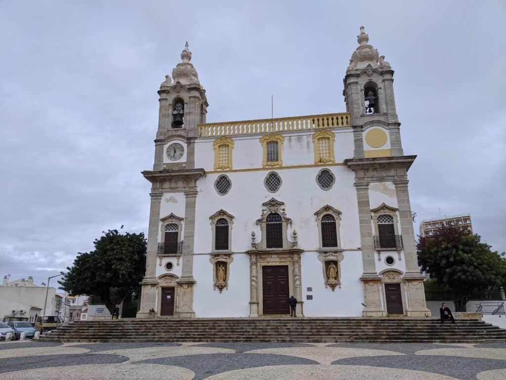 Igreja do Carmo, in Faro an der Algarve, Portugal