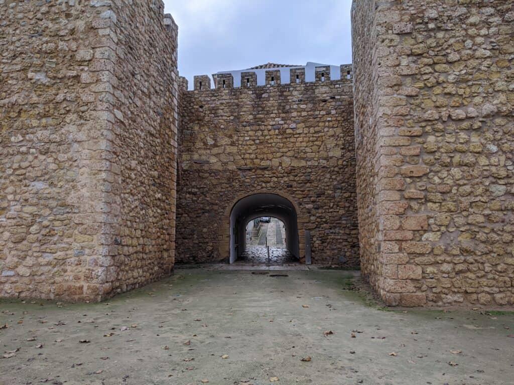 Der Arco de Sao Gonzalo in Lagos, Portugal