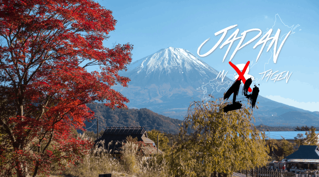 Japan in 14 Tagen Titelbild