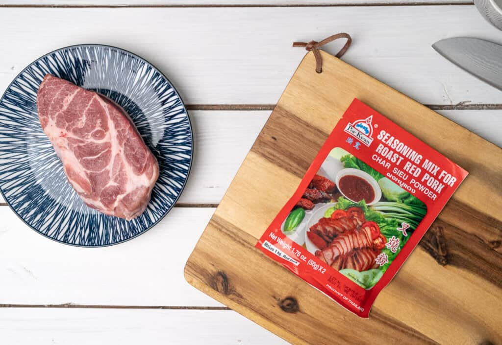 Marinade für Schweinefleisch, gibt es in jedem Asialaden